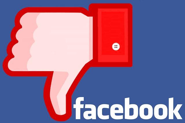 nie lubię tego na facebooku