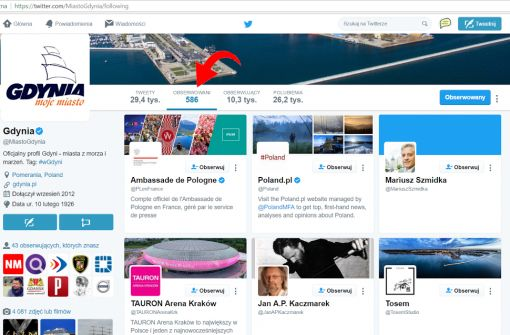 Gdynia Twitter opis