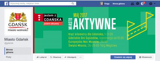 miasta na facebooku